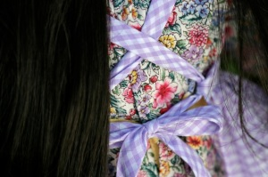 """Katherine"" apron for My Twinn doll"